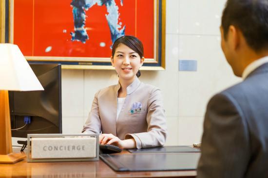 JR Tower Hotel Nikko Sapporo : コンシェルジュによるサポート