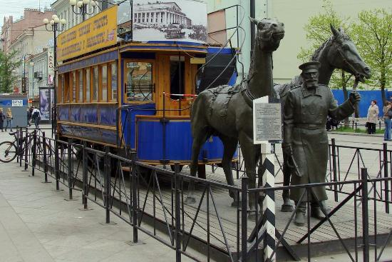 St. Petersburg Horsecar Replica