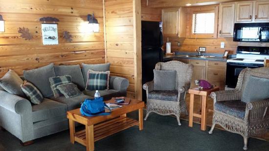 Flowing Wells Resort: Living room