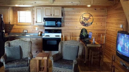 Flowing Wells Resort: Dining room