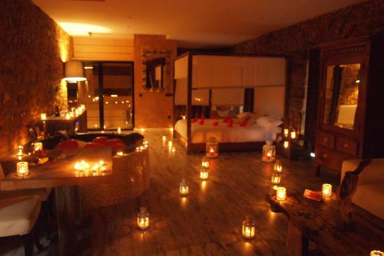el palacete soado decoracin romntica en suite girasoles