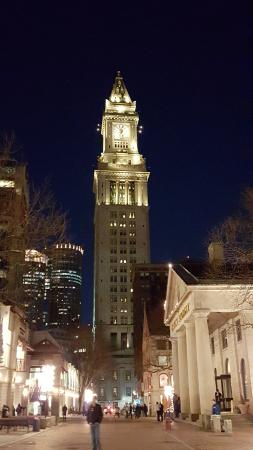 Custom House From Quincy Market Picture Of Marriott Vacation Club Pulse At Custom House Boston Boston Tripadvisor