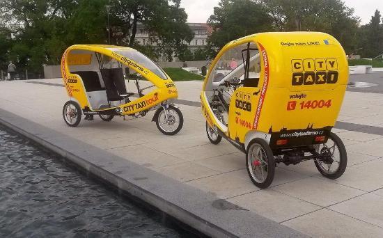 Projížďka s rikšou