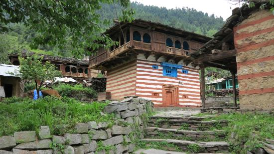 Himalayan  Country House : Maison traditonnelle à Old Manali