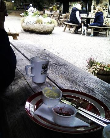 Home Farm Cafe Yummy Cream Tea Demolished