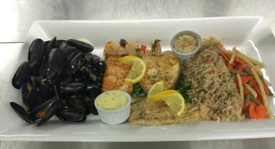Hotel North: Seafood Platter