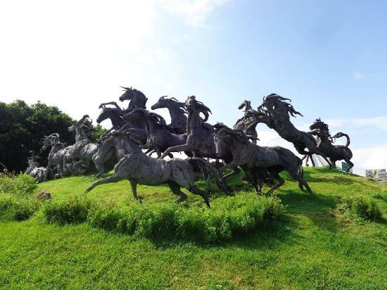 Escultura La Estampida