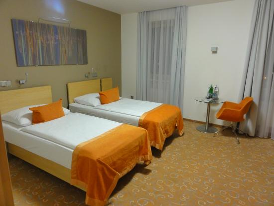 Otrokovice, جمهورية التشيك: OREA Hotel Atrium Otrikovice CZ, standard room