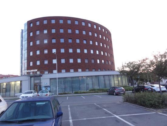 Otrokovice, جمهورية التشيك: OREA Hotel Atrium Otrikovice CZ, building