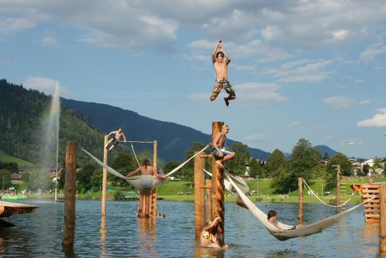 Funpark swimminglake Niedernsill