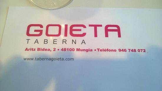 Taberna Goieta