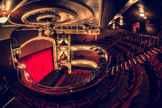 Crewe Lyceum Theatre: Auditorium with original features