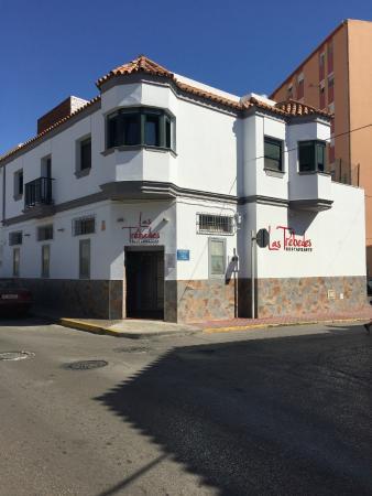 Restaurante Las Trebedes: Nueva fachada