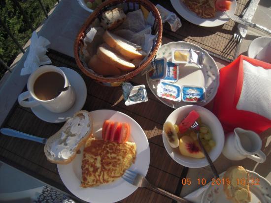 Ozankoy, Cypern: Завтрак