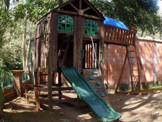 Area De Juegos Para Los Ninos Fotografia De Casa De Campo Coatepec