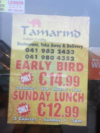 Drogheda, Irlanda: Misleading Poster