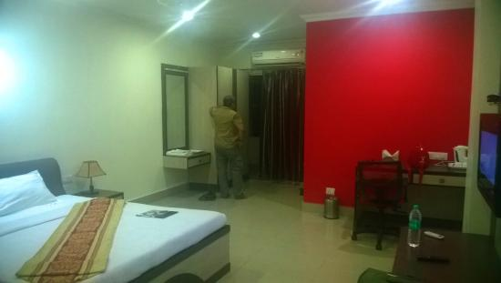 Purnea, Indie: The Room we stayed in