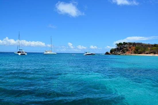 Oyster Pond, St. Martin: Captain Alan's 3 Island Snorkel Adventure
