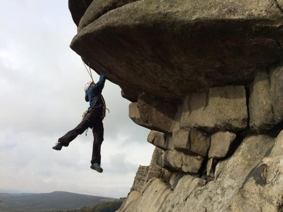 Hope Valley, UK: Flying Buttress Direct