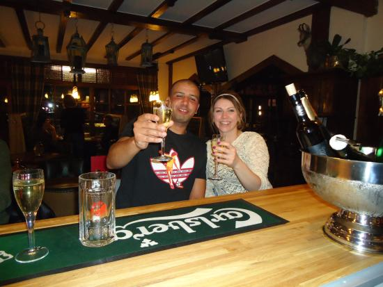 Les Fougeres Hotel and Harrys Bar : Celebrations at Les Fougeres