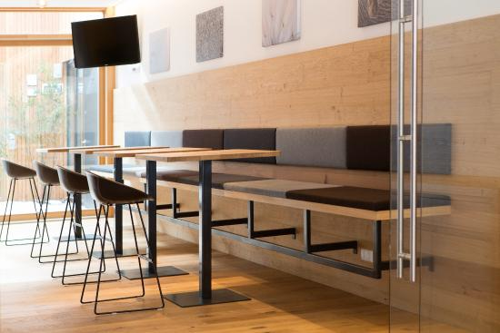 Lounge und aufenthaltsraum bild von steindls for Sterzing boutique hotel