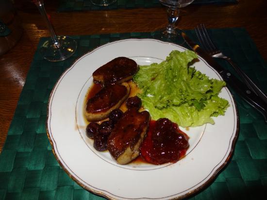 Тенс, Франция: Foie gras poêlé