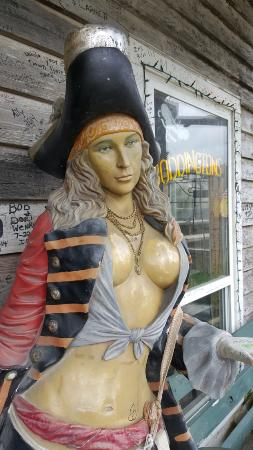 Eddy Teach's Raw Bar: Pirate Woman