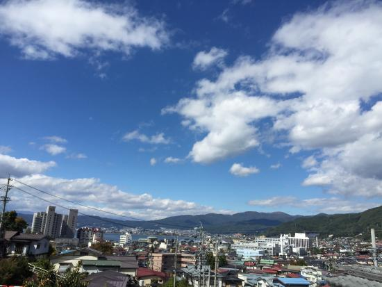Onsenji Temple: 温泉寺からの眺め