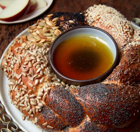 Morton's Bakehouse: Challah with pure Boquete honey for the Jewish new year