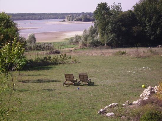 Indre-et-Loire, Frankrike: vue sur le lac