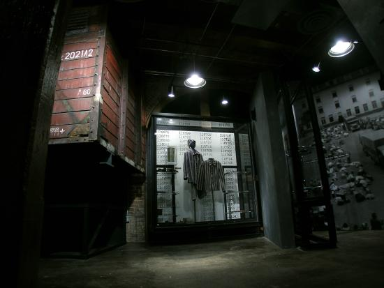 Dallas Holocaust Museum: World War II Era Train Box Car & Prisoner Uniform
