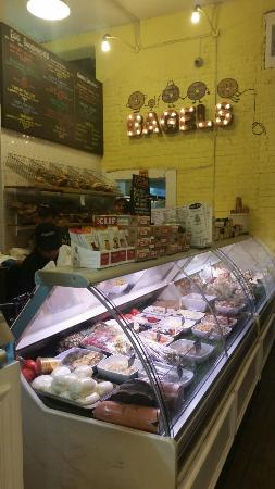 Photo of Cafe Bagel Pub at 287 9th St, Brooklyn, NY 11215, United States