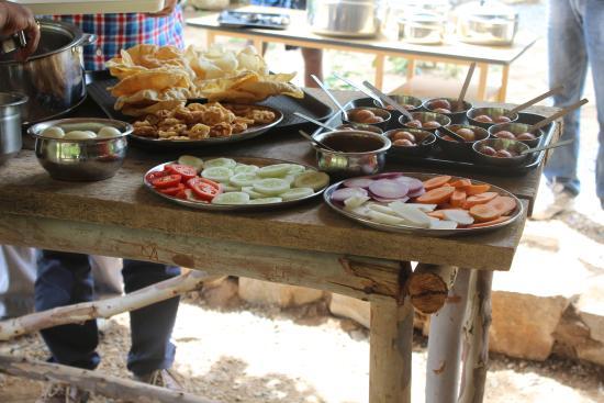 Krishnagiri, India: Food!!