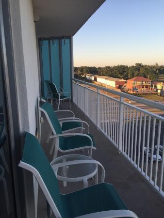 Balcony Picture Of South Beach Biloxi Hotel Suites Tripadvisor