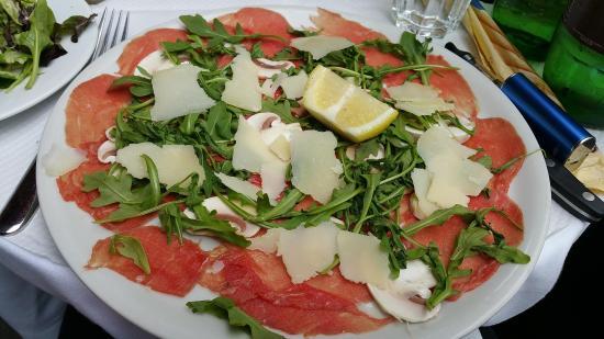 Pizza Roma: Carpaccio