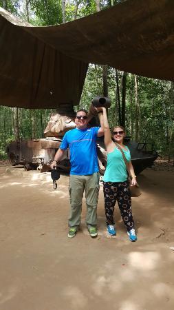 Smile Tourist - Day Tours : Cu chi