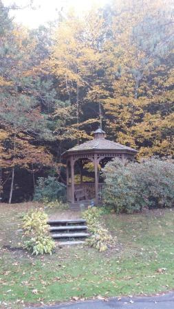Williamstown, MA: Gazebo in the back