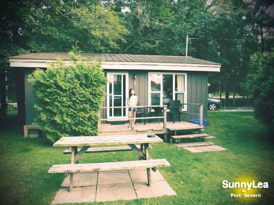 Port Severn, แคนาดา: our cottage, not too savvy!