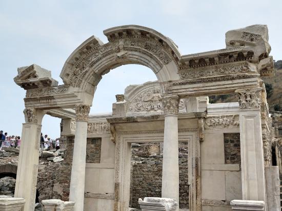 Niki statue in last photo - Ancient City of Ephesus ...