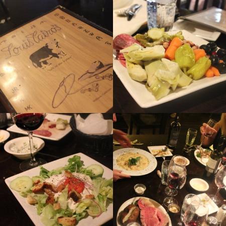 Williams, Californien: Steak House fare