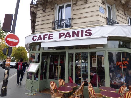 Cafe Panis Paris France