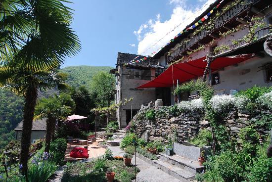 haus und garten - picture of cb guesthouse, mergoscia - tripadvisor, Garten und Bauen