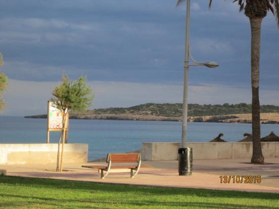 Protur Playa Cala Millor Hotel: View from the hotel