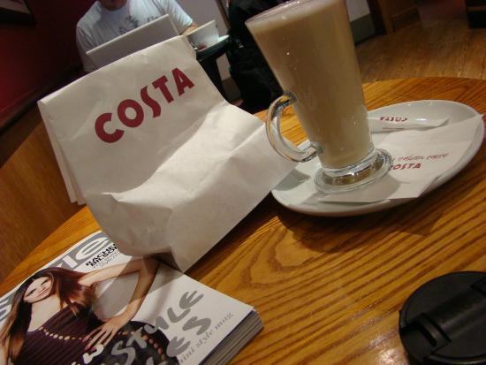 Costa Coffee Bromsgrove 84 86 High St Menu Prices