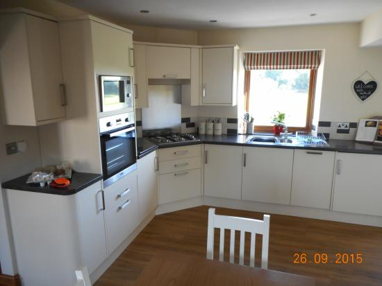 Hincaster, UK: Kitchen