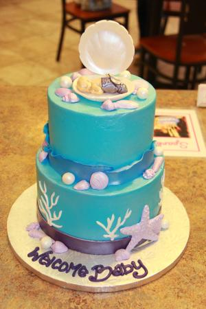 Mermaid Babyshower Cake Picture of Cest Si Bon Bakery San Jose