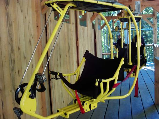 Sutton, Canada: This is what you sit in to pedal