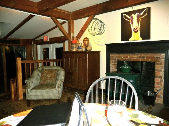 Inn at Weathersfield: a cozy spot by the woodstove