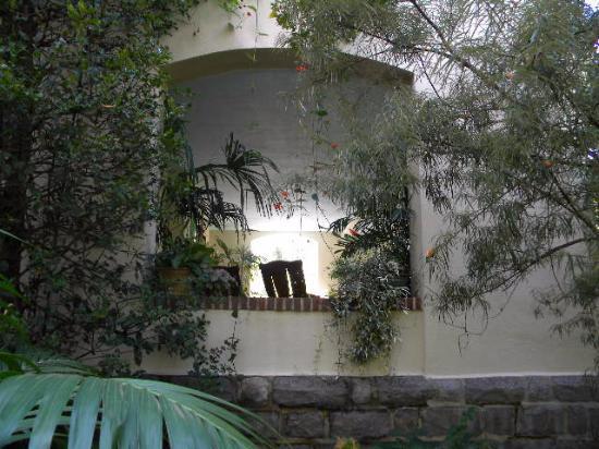 Wayne, PA: view of main house porch