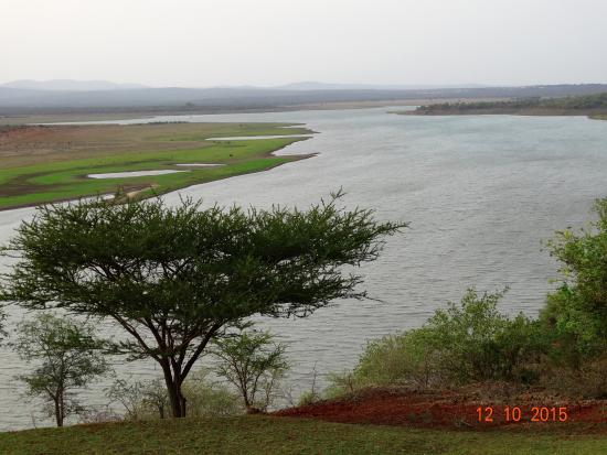 Nkwazi Lake Lodge: View from your balcony